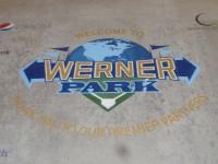 Werner Park Logo Engraving